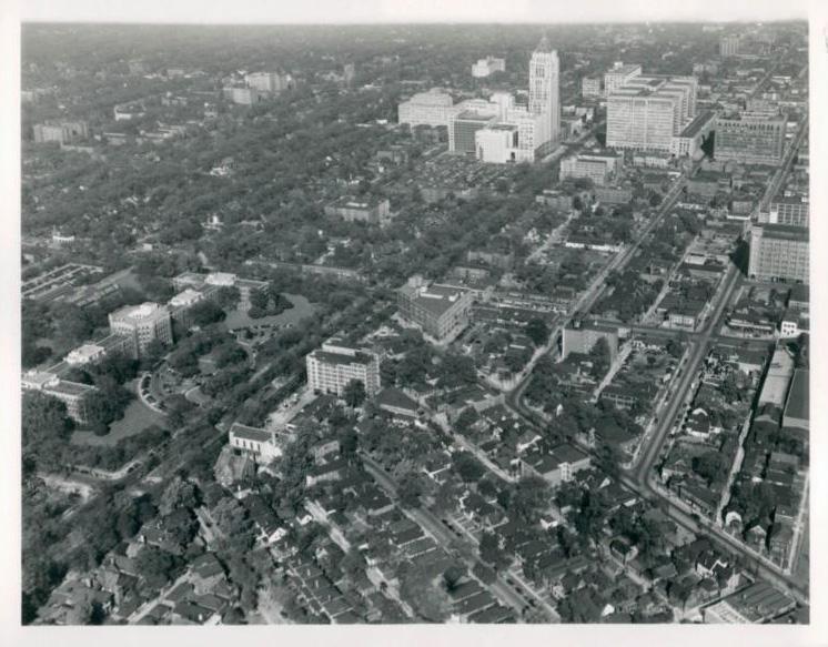 City of trees Detroi 40-talet